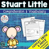 Stuart Little: Comprehension and Vocabulary by chapter Distance Learning