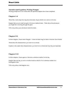 Stuart Little-Reading Literature Guide