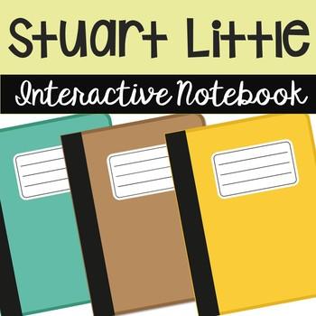 Stuart Little Interactive Notebook Novel Unit Study Activities, Book Report