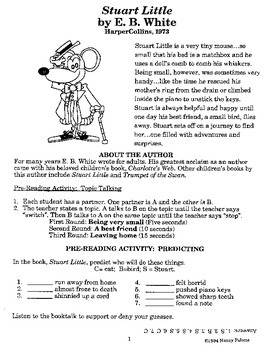 Stuart Little Literature Guide