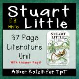 Stuart Little Literature Guide (Common Core Aligned)