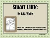 Stuart Little Novel Study-Common Core