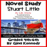 Stuart Little Novel Study & Project Menu; Plus Digital Option