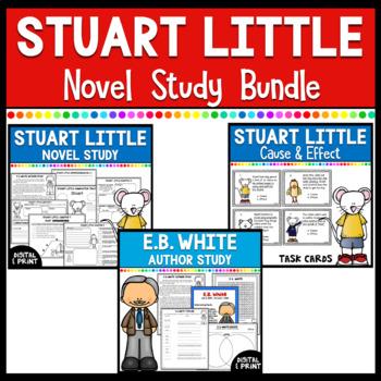 Stuart Little Novel Study & Literacy Center Bundle