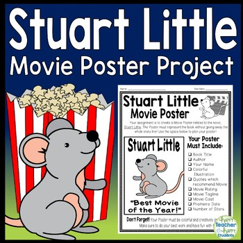 Stuart Little Project: Make a Movie Poster! {Stuart Little Book Report}