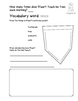 Stuart Little Response Packet K/1