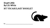 Stuart Little Vocabulary Packet