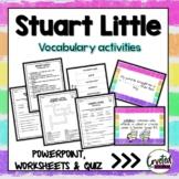 Stuart Little Vocabulary Powerpoint