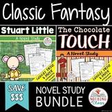 Stuart Little and The Chocolate Touch Novel Study Bundle