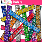 Ruler Clip Art: Measurement Graphics for Math {Glitter Meets Glue}
