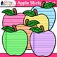 Sticky Note Clip Art: School Supply Graphics {Glitter Meets Glue}