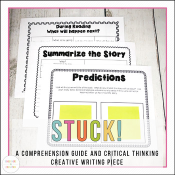 Stuck!  A critical thinking comprehension and creative writing piece