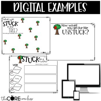 Stuck Read-Aloud | Distance Learning | for Google Slides | Seesaw