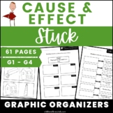 Stuck by Oliver Jeffers: Cause and Effect Graphic Organize