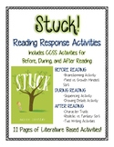Stuck by Oliver Jeffers: Growth Mindset Reading Response and Writing Activities