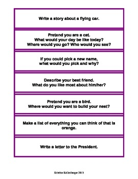 Stuck for an Idea? 106 Writing Prompts for Students