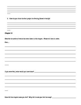 Stuck in Neutral Chapter Worksheets and Activities