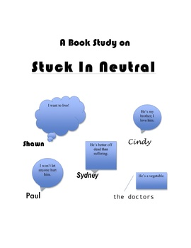 """Stuck in Neutral"" Teaching Unit: Activities, Q & A, Vocabulary, Writing Ideas"