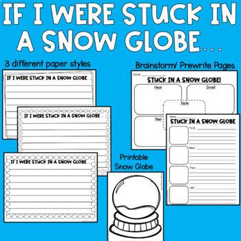 Stuck in a Snow Globe Craftivity