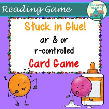 Stuck in the Glue! AR and OR R-controlled Card Game