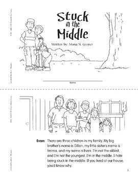 Stuck in the Middle (Leveled Readers' Theater, Grade 3)