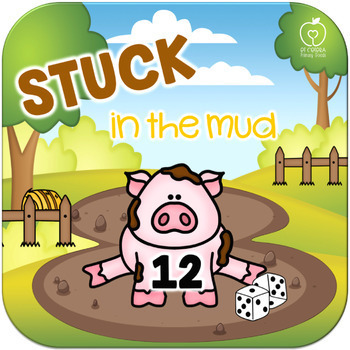 Stuck in the Mud Roll and Keep Addition Dice Game