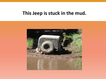 Stuck in the Mud simple text reader
