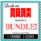 Stuck on STEM Unit - Lesson Plans for Geometry!