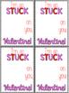 Stuck on You Valentine's Day Cards - Freebie!