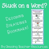 Stuck on a Word? Decoding Strategies Bookmark!