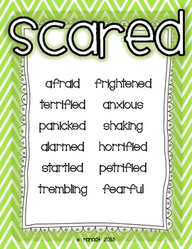 Stuck on a Word? {Posters to Improve Your Students' Writing}