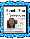 Stuckey in Second Newsletter