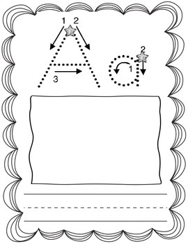 Student ABC Alphabet Booklet