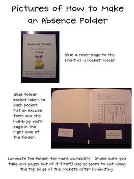 Student Absence Folder
