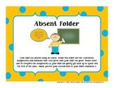 Student Absence Folders