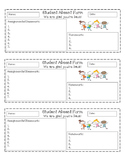 Student Absent Work Form