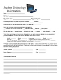 Student Access to Technology Survey