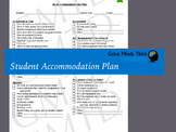 Student Accommodation Form