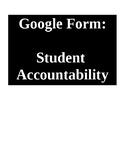 Student Accountability Form