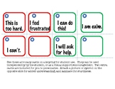 Student Advocacy Cards