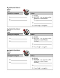 Student Agenda Checklist