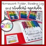 Student Agenda, Homework Folder & Reading Log- ALL IN ONE!