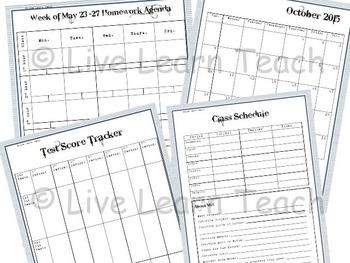 Student Agenda and Homework Planner 2015-2016