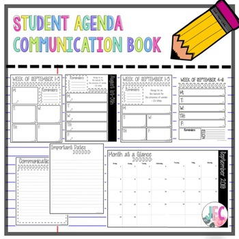 photo regarding Student Agenda Printable identified as Scholar Program with editable dates