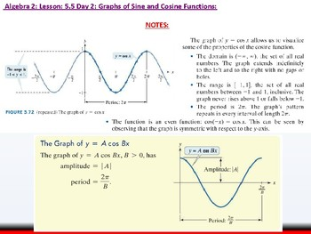 Student: Algebra 2: CU 10: 5.5 Day 2: Graphs of Sine and Cosine Functions