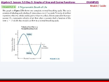 Student: Algebra 2: CU 10: 5.5 Day 3: Graphs of Sine and Cosine Functions
