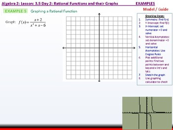 Student: Algebra 2: CU 6: 3.5 Day 2: Rational functions and their Graphs