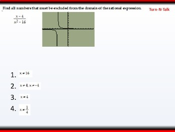 Student: Algebra 2: CU 6: P.6 Day 1: Rational Expressions