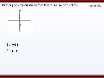 Student: Algebra 2: CU 9: 2.7 Day 2: Inverse Functions