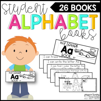 Student Alphabet Books (A-Z)